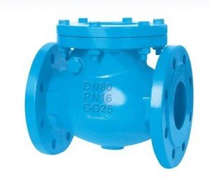 SWING CHECK VALVE PN16 FLANGED END