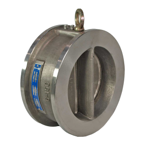 stainless steel wafer dual plate check valve
