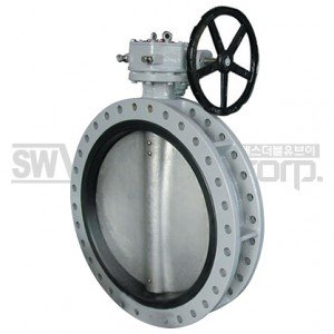 SAMWOO DUAL FLANGED BUTTERFLY VALVE CLF SERIES