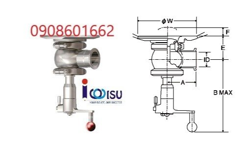 Manual Tank Valve Type WT1R-3000