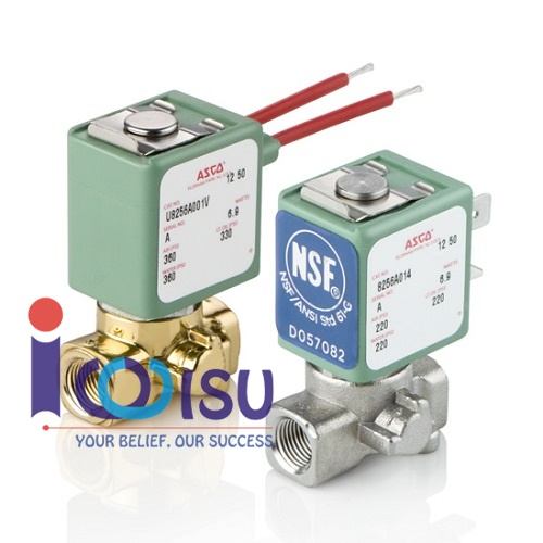 ASCO 265 SOLENOID VALVES FOR FUEL, OIL AND GAS