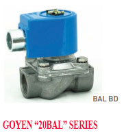 GOYEN SOLENOID VALVE 20BL SERIES NORMALLY CLOSED