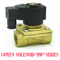 GOYEN SOLENOID VALVE BW SERIES NORMALLY CLOSED