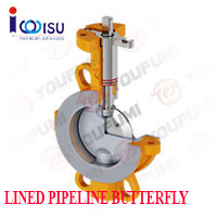 YOUFUMI HIGH PERFORMANCE LINED BUTTERFLY VALVE