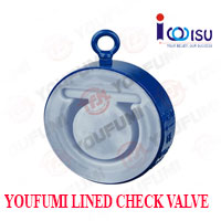 YOUFUMI LINED WAFER TYPE CHECK VALVE