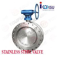 YOUFUMI TRIPLE ECCENTRIC FLANGE BUTTERFLY VALVE