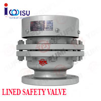 YOUFUMI VACUUM NEGATIVE PRESSURE LINED SAFETY VALVE