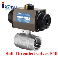 BALL THREADED VALVES S40 SIRCA