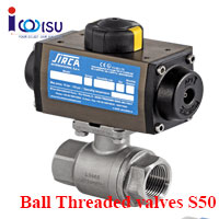 BALL THREADED VALVES S50 SIRCA