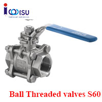 BALL THREADED VALVES S60 SIRCA