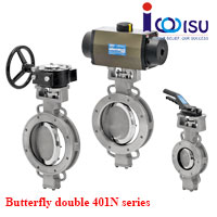 BUTTERFLY DOUBLE OFFSET VALVES 401N SERIES