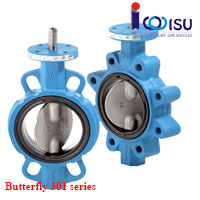 BUTTERFLY RESILIENT SEATED VALVES 301 SERIES