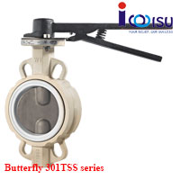 BUTTERFLY RESILIENT SEATED VALVES 301TSS SERIES