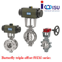 BUTTERFLY TRIPLE OFFSET VALVES 501M SERIES
