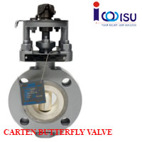 CARTEN HILIFE CERAMIC BUTTERFLY VALVE
