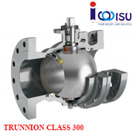 PEKOS FULL TRUNNION SPLIT BODY CLASS 300