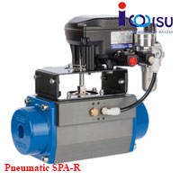 PNEUMATIC QUARTER TURN ACTUATOR SPA-R