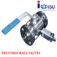 REDUCED BORE TRUNNION BALL VALVES 3-PIECE CL300