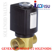 2/2 DIRECT - ACTING WAY PLUNGER VALVE TYPE 6027