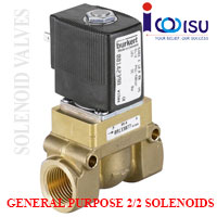 2/2 SERVO - ASSISTED WAY PISTON VALVE TYPE 5404