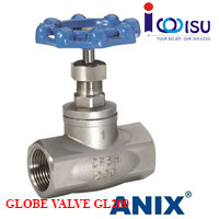 SS316 THREADED GLOBE VALVE GL200