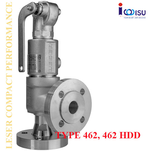 COMPACT PERFORMANCE SAFETY VALVES OF TYPE 462, 462HDD