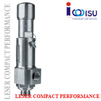 LESER COMPACT PERFORMANCE SAFETY VALVES OF TYPE 438