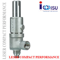 LESER COMPACT PERFORMANCE SAFETY VALVES OF TYPE 462HDD