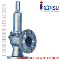LESER MODULATE ACTION SAFETY VALVE TYPE 433