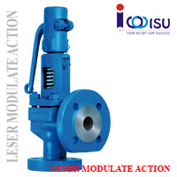 LESER MODULATE ACTION SAFETY VALVE TYPE 433 PN160