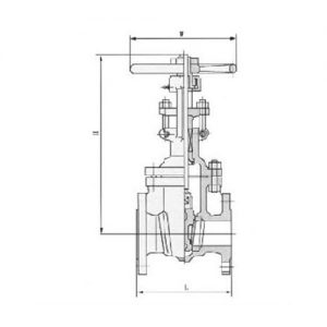 A105 FLANGED GATE VALVE TECHNICAL PARAMETERS