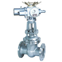ELECTRIC STAINLESS STEEL GATE VALVE