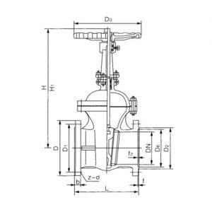 FLANGE WEDGE GATE VALVE PRODUCT INTRODUCTION