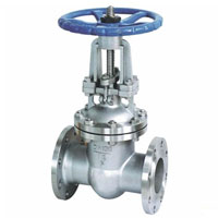 FLANGED STAINLESS STEEL GATE VALVE