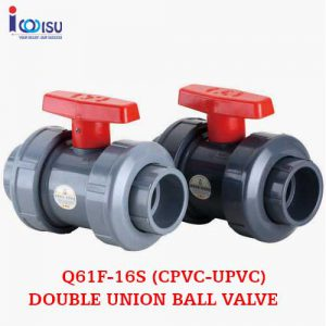 Q61F-16S DOUBLE UNION BALL VALVE