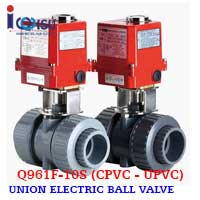 ELECTRIC BALL VALVE CPVC Q961F-10S