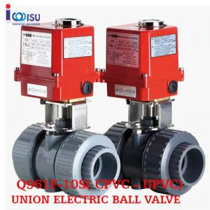 UNION ELECTRIC BALL VALVE Q961F-10S