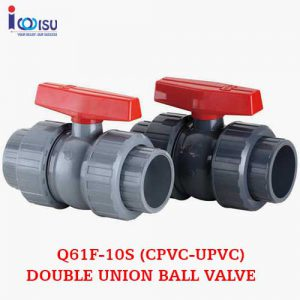 Q61F-10S DOUBLE UNION BALL VALVE