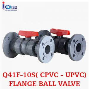 UPVC FLANGE BALL VALVE