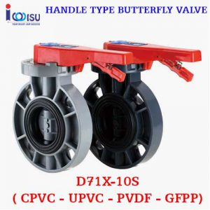 HANDLE TYPE BUTTERFLY VALVE D71X-10S