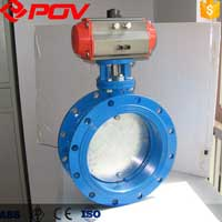AERATION HIGH TEMPERATURE PNEUMATIC BUTTERFLY VALVE
