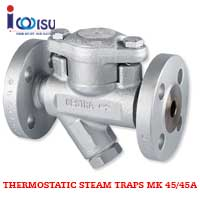 GESTRA THERMOSTATIC STEAM TRAPS MK 45/45A