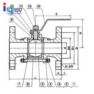3 PSC STEEL BALL VALVE DRAWING BOARD
