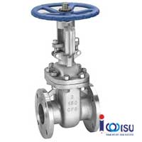 FLANGE GATE VALVE STAINLESS STEEL 100 LBS