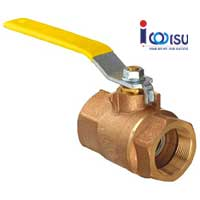BRASS FULL BORE BALL VALVE 125 LBS