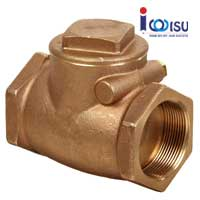 BRASS SWING CHECK VALVE METALLIC DISC PN 16