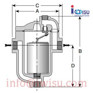 ARMSTRONG INVERTED BUCKET STEAM TRAP