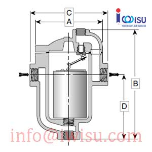 INVERTED BUCKET STEAM TRAP 811 75-015
