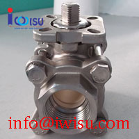 3 PIECE THREADED CERAMIC BALL VALVES