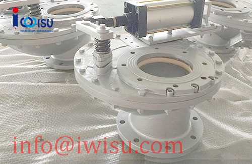 CERAMIC ROTATING SINGLE DISC VALVES - 1